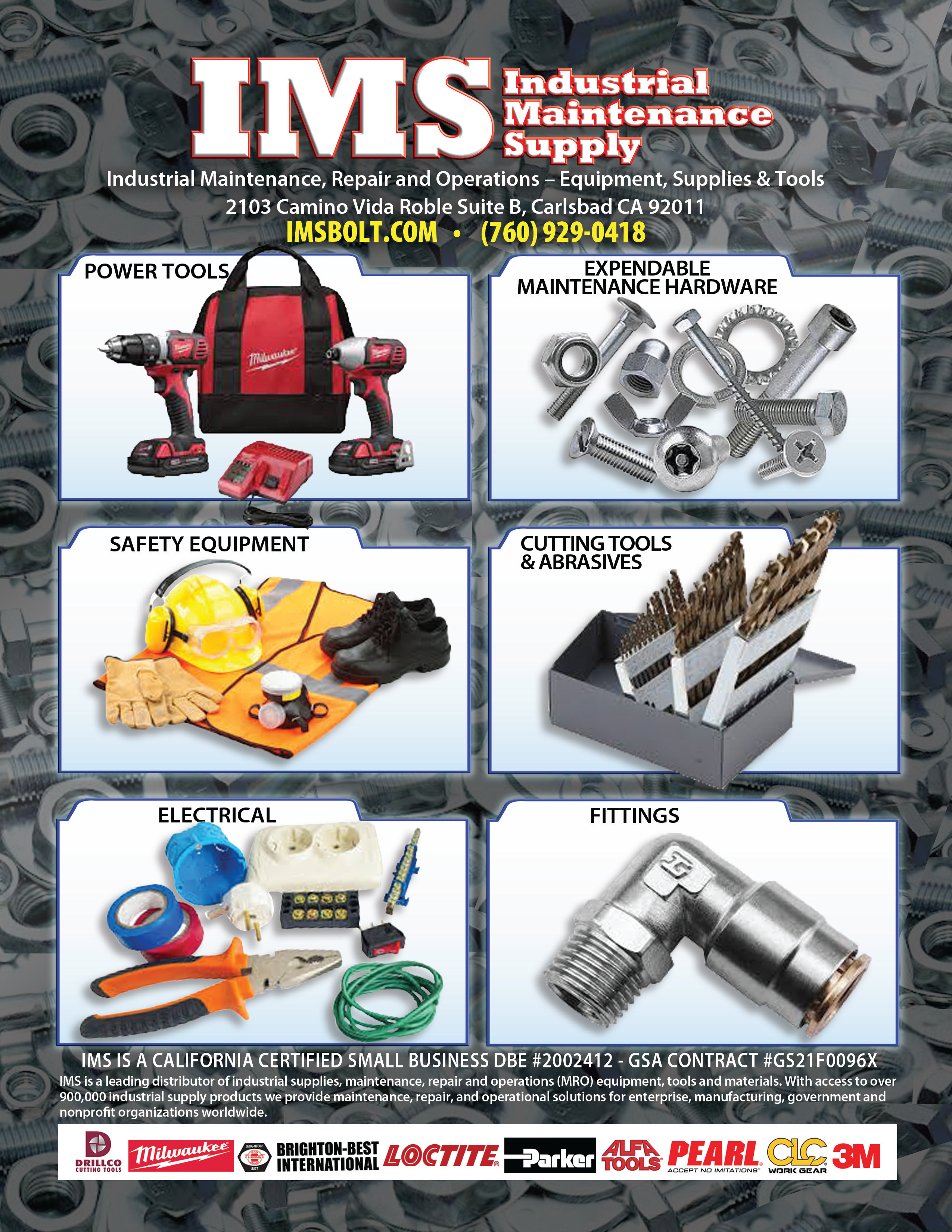 Line Card |Industrial Maintenance Supply